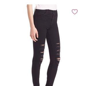 4d9c64bbc9b6 J Brand Jeans - J Brand Maria Black Heart High-Rise Skinny Leg